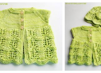 Lily's Baby Cardigan Free Knitting Pattern