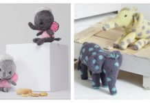 Little Elephant Amigurumi Free Knitting Pattern