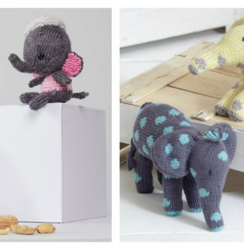 Little Elephant Amigurumi Free Knitting Pattern