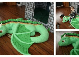 The Forest Baby Dragon Knitting Pattern