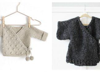 Kimono Sweater Free Knitting Pattern