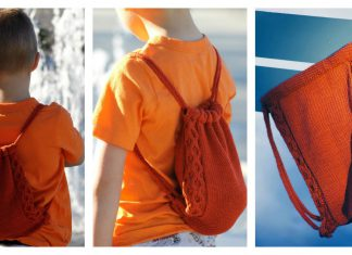 Treasure Backpack Free Knitting Pattern