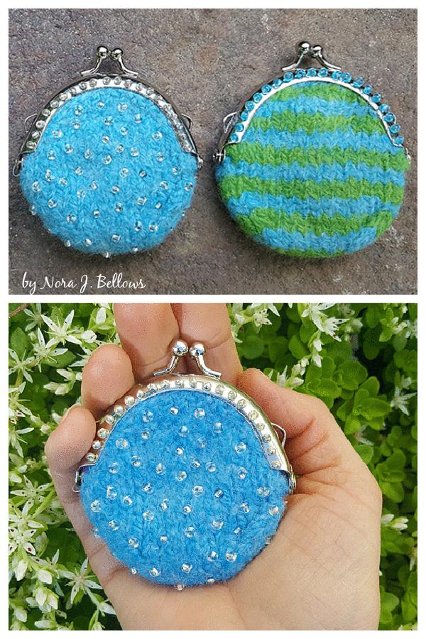 A Little Bit of Hope Purse Free Knitting Pattern