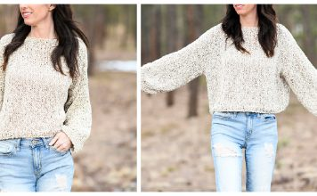 Easy Pullover Sweater Free Knitting Pattern