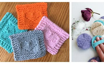 Face Scrubby Free Knitting Pattern