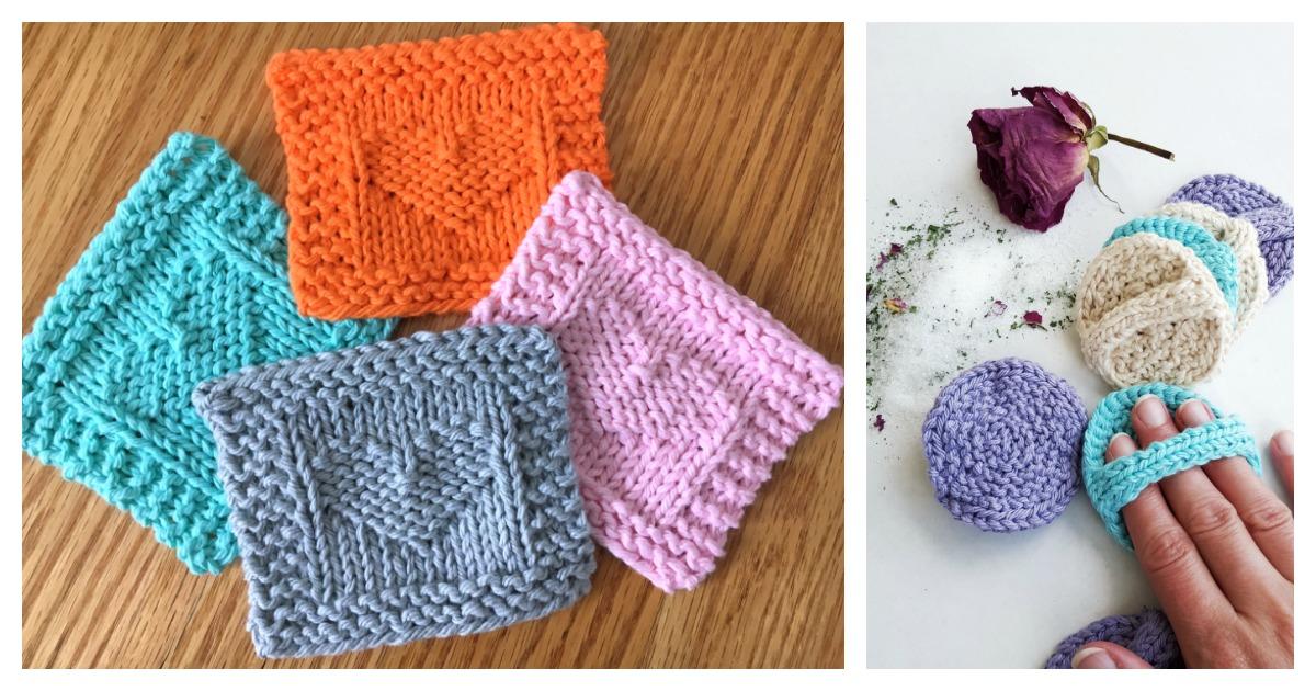 Face Scrubby Free Knitting Pattern