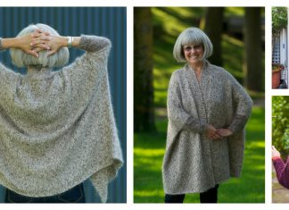 Modern Wrapper Knitting Pattern