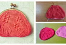 Coin Purse Free Knitting Pattern