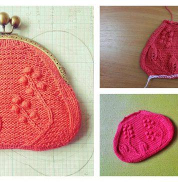 Coin Purse Free Knitting Pattern