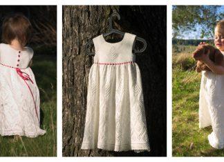 Royal Baby Lace Dress Free Knitting Pattern
