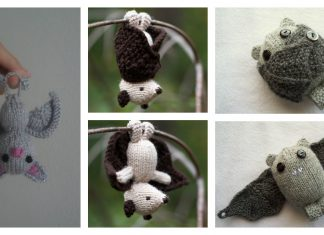 Amigurumi Bat Free Knitting Pattern and Paid