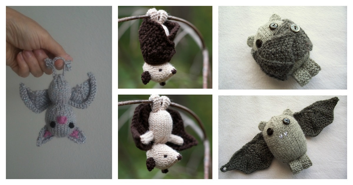 10 Adorable Amigurumi Bat Crochet Pattern Free & Paid | Halloween ... | 630x1200