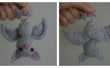 Amigurumi Bat Free Knitting Pattern