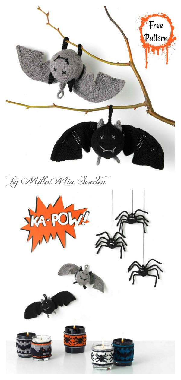 Amigurumi Bat Toy Free Knitting PatternAmigurumi Bat Toy Free Knitting Pattern