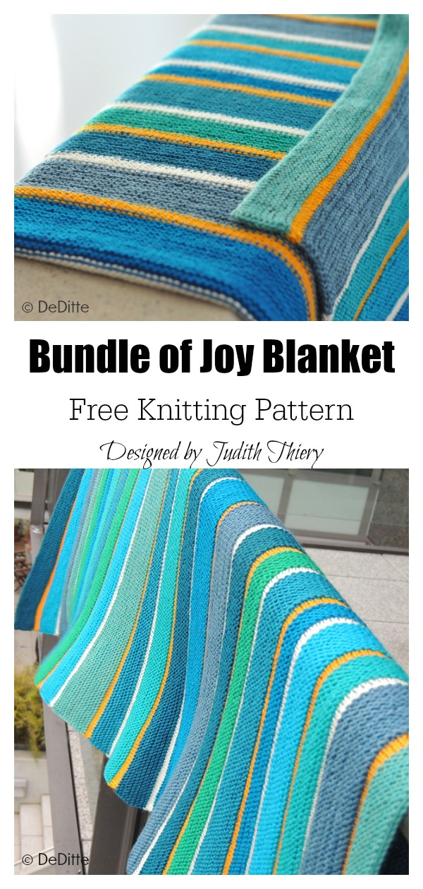 Bundle of Joy Baby Blanket Free Knitting Pattern