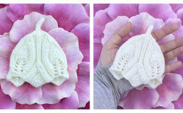 Elvish Baby Beanie Hat Free Knitting Pattern