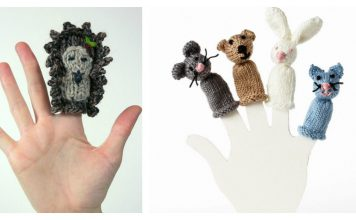 Finger Puppets free Knitting Pattern