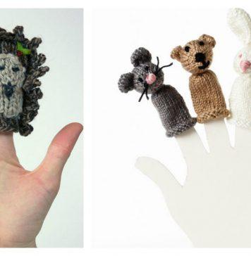 Finger Puppets free Knitting Pattern