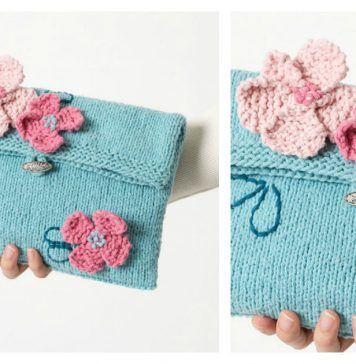 It's a Date Clutch Free Knitting Pattern