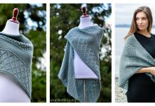 Lattice Sampler Shawl Free Knitting Pattern