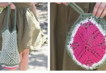 Melon Pocket Bag Free Knitting Pattern