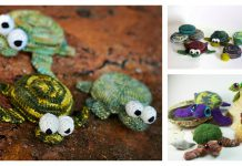 Sea Turtle Amigurumi Free Knitting Pattern