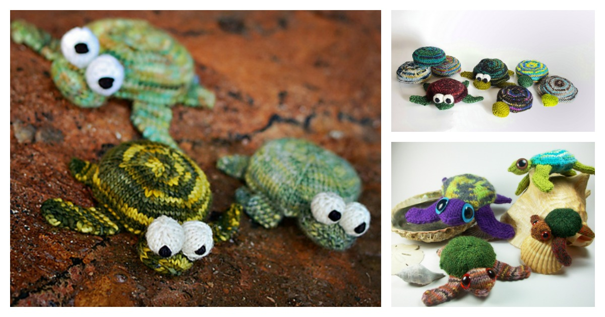 Turtles – Amigurumi Patterns | 630x1200
