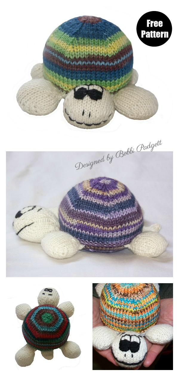 Sock Turtle Free Knitting Pattern