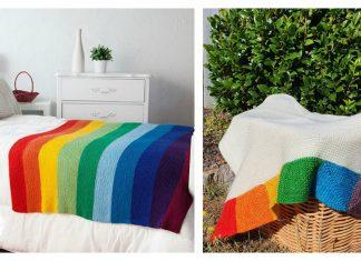 The Rainbow Blanket Free Knitting Pattern