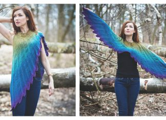 Wingspan Shawl Knitting Pattern