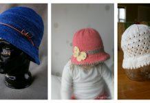 Bucket Style Hat Free Knitting Pattern