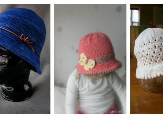 Bucket Style Hat Free Knitting Pattern