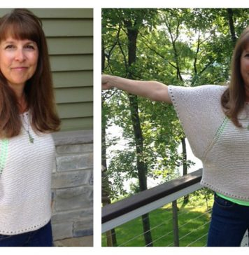 Indian Summer Top Free Knitting Pattern