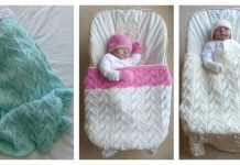 Lace Arches Baby Blanket Free Knitting Pattern