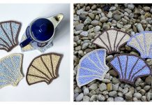 Seashell Coasters Free Knitting Pattern