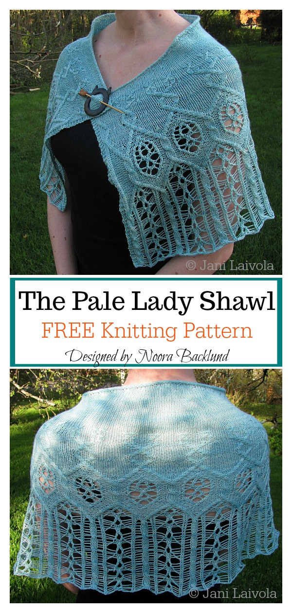 The Pale Lady Lace Shawl Free Knitting Pattern