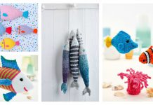 Amigurumi Fish Softie Free Knitting Pattern