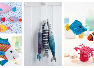 Amigurumi Fish Softie Free Knitting Pattern