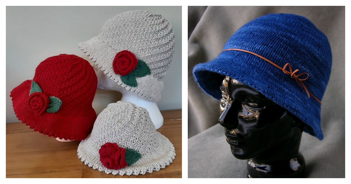 5 Bucket Style Hat Free Knitting Pattern And Paid