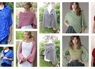 Convertible Wrap Free Knitting Pattern