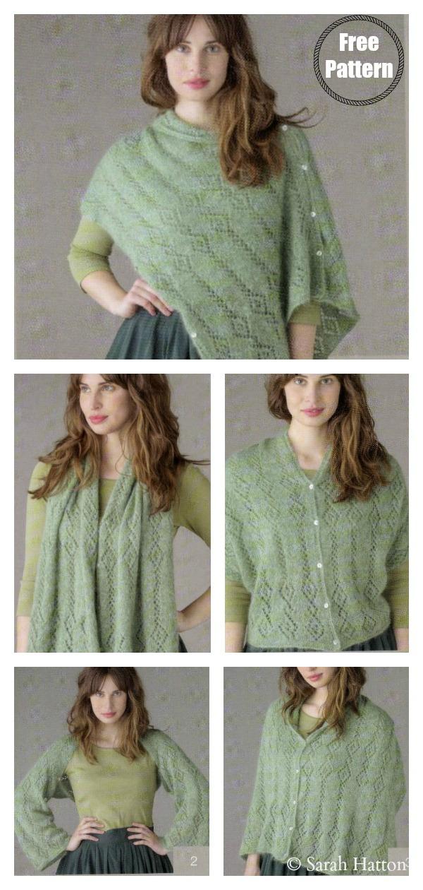 Multiway Stole FREE Knitting Pattern