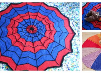 Round Blanket Free knitting Pattern