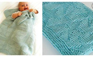 Stars Baby Blanket Free Knitting Pattern