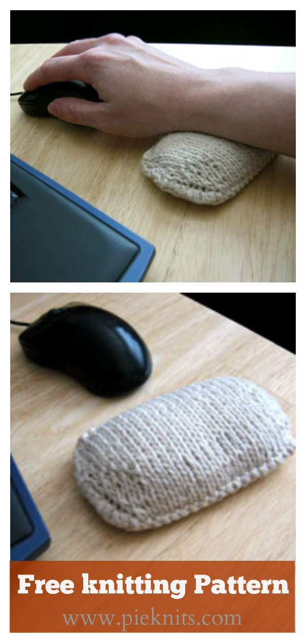 Wrist Rest Pillow Free knitting Pattern