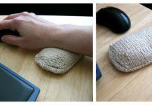 Wrist Rest Pillow Free knitting Pattern