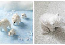 Amigurumi Polar Bear Toy Free Knitting Patterns
