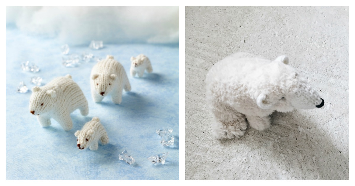 Minimals - Polar bear amigurumi pattern - Amigurumipatterns.net | 630x1200