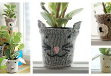 Animal Pot Cozies Free Knitting Pattern