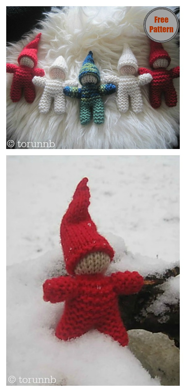 Baby Gnome Free Knitting Pattern