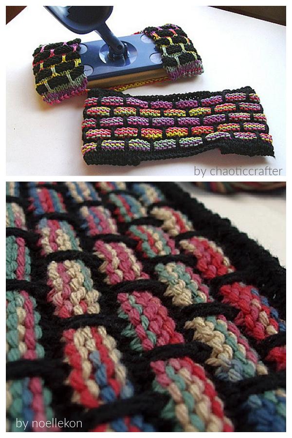 Ballband Dishcloth Reusable Swiffer Cover Free Knitting Pattern
